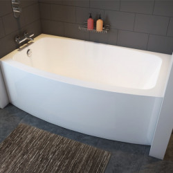 Bain Signature Odelle-T Curved Bathtub With Skirt