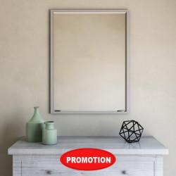 Bain Signature Marietta Metal Framed Mirror with Rectangular Shape