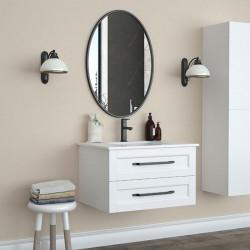 Bain Signature Sienna Floating Oval Mirror