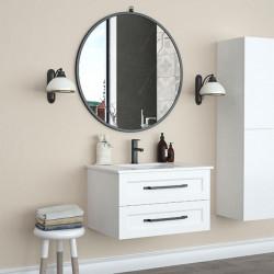 Bain Signature Verona Floating Round Mirror with hanger