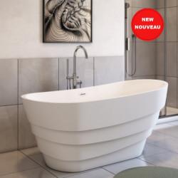 Bain Signature Deluxe Freestanding Bathtubs-Acrylic