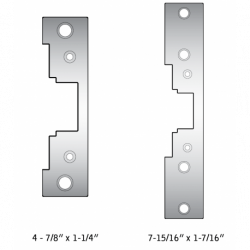 HES 4500-110 Replacement Strike Plate for Electric Strikes