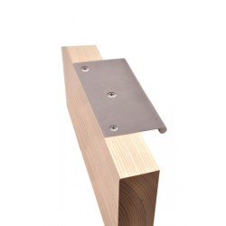 ABH 18300 Solid Round Edge Pull W/ Bent Edge