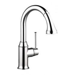 Hansgrohe 4216000 Talis C 2-Spray Prep Kitchen Faucet, Pull-Down