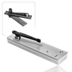 Rixson 5023/5024/5025 LAP Shallow Depth Offset Hung Floor Closers (Parallel To Frame)