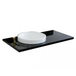 """Bellaterra 430003-43 43"""" Countertop And Single Round Sink"""