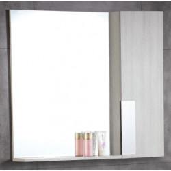 Bellaterra 500822 32 in. Mirror Cabinet, Finish- Gray Pine