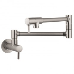 Hansgrohe 4218800 Talis C Pot Filler, Wall-Mounted