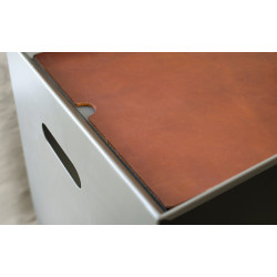 Magnuson OSSA-LEATHER Saddle Leather Cover For Top Of OSSA