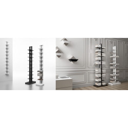 Magnuson USIO Wall Mounted Bookshelf With Aluminum Center Column