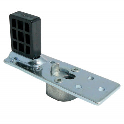 Cavity Sliders ZK00113 M8 Mounting Plate w/ Stop Stainless Steel