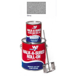 Wooster Anti-Slip Epoxy Coating Walk-A-Sured Roll-On 1 Gal Kit
