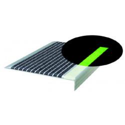 Wooster Flex-Tred Niteglow And Ocean Gray Strips (50 Strips/Carton)