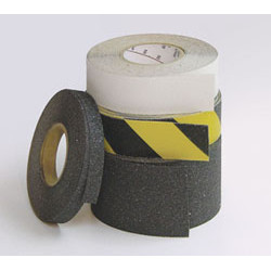 """Wooster Flex-Tred Colors Rolls (And Extra Coarse Black) 3""""X60' (4 Rolls/Carton)"""