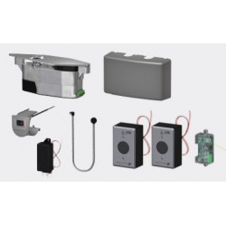 LCN 6440-2210 Compact Series Module & Touchless, Battery-Powered, RF Actuator Kit
