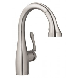 Hansgrohe 4297800 Allegro E Gourmet 2-Spray Prep Kitchen Faucet, Pull-Down
