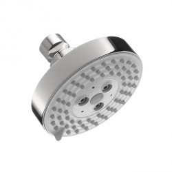 Hansgrohe 4340000 Raindance S 100 AIR Green 3-Jet Showerhead, 2.0 GPM