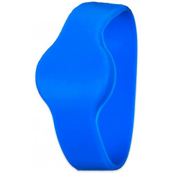 FJM Security 7910-K10P-Band RFID Wrist Band for the Combi-Cam E-Blue