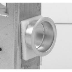 """Ives 218 Brass Finger Pull 1"""" Diameter"""