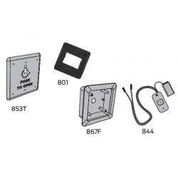 LCN 8310 Series Wall Mount Box Actuator Square Logo (4-3/4)