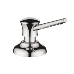 Hansgrohe 4540000 Traditional Soap Dispenser