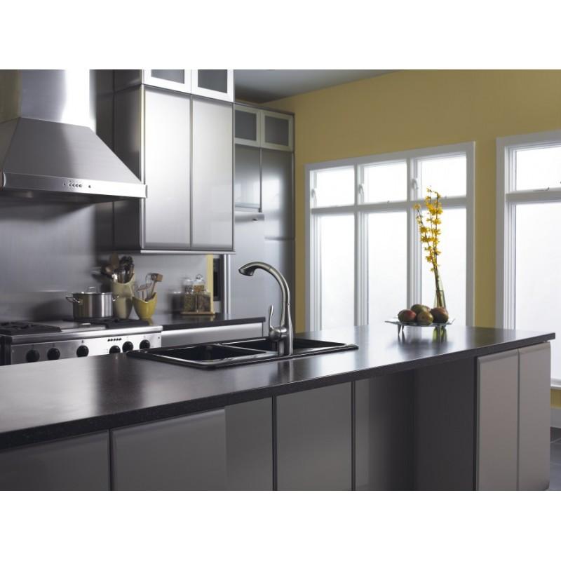 hansgrohe 6461860 allegro e 2-spray semiarc kitchen faucet