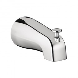 Hansgrohe 6501000 Commercial Tub Spout with Diverter