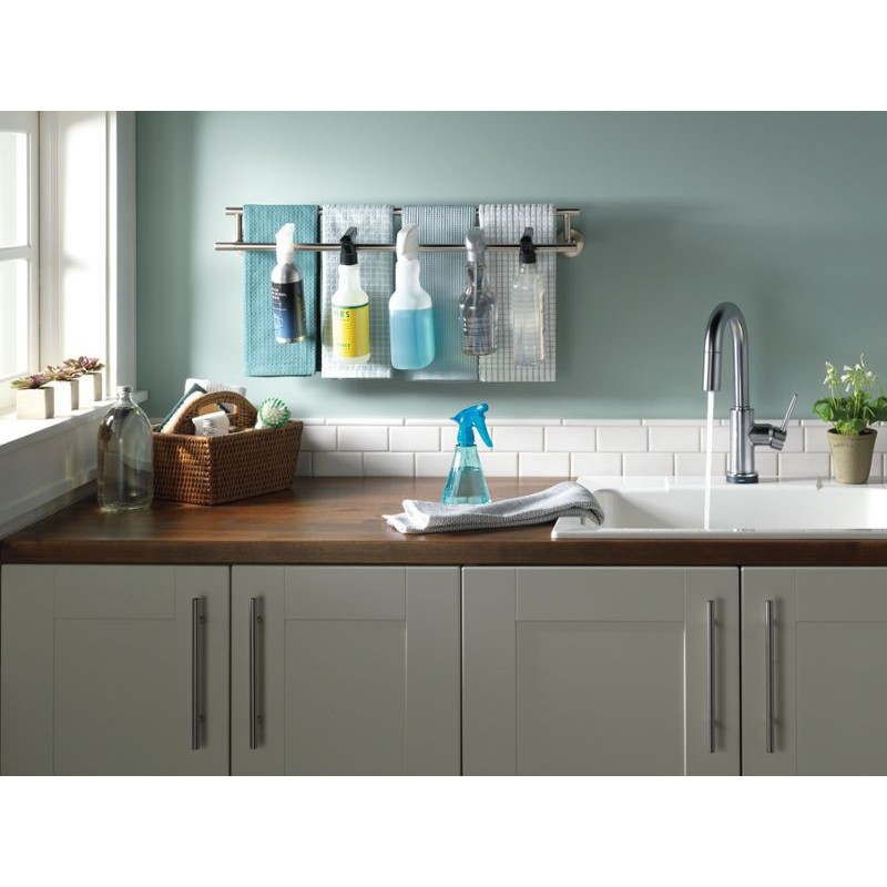 Trinsic Kitchen Single Handle Pull Down Bar Prep Faucet
