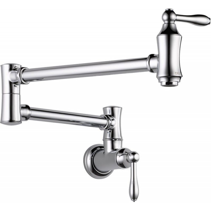 Delta 1177lf Pot Filler Faucet Wall Mount Collections
