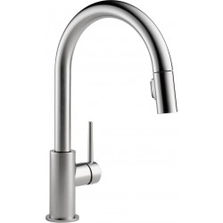 Delta 9159-DST Single Handle Pull-Down Kitchen Faucet Trinsic®