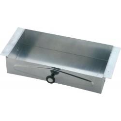 Delta 46090 Steel Recessed Vanity Tissue Cabinet Galvanized in Chrome