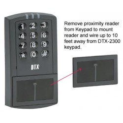 Detex DTX-2300 Stand-Alone Proximity Reader Keypad