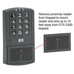 Detex DTX-2300 Stand-Alone Proximity Reader Keypad