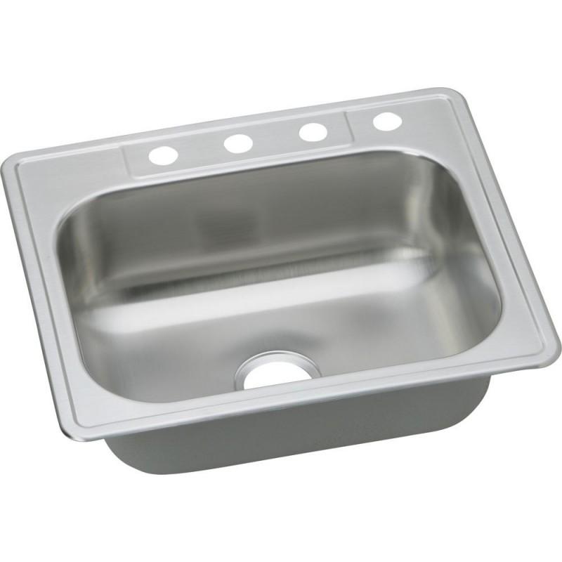 Elkay Dse12522 Dayton Elite Stainless Steel Single Bowl