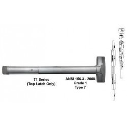 Detex ADVANTEX 71 Series Concealed Vertical Rod Exit Device ( For Wood Door )