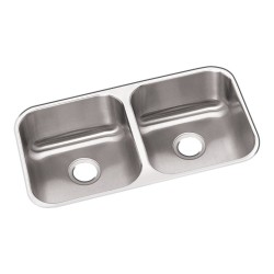Elkay DXUH3118 Dayton Stainless Steel Double Bowl Undermount Sink