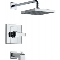 Delta T14486-SHQ Monitor® 14 Series Tub and Shower Trim in Chrome Arzo®
