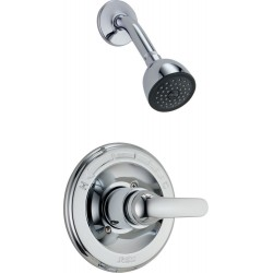 Delta 1323 Monitor® Shower - Complete Rough and Trim in Chrome Classic