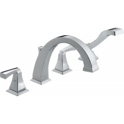 Delta T4751 Roman Tub with Hand Shower Trim Dryden™