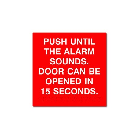 Detex ADVANTEX Push Until Alarm Sounds- Door Can Be Opened In 15/30 Seconds  sc 1 st  American Builders Outlet & Detex ADVANTEX Push Until Alarm Sounds- Door Can Be Opened In 15/30 ...