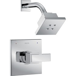 Delta T14267-H2O Monitor 14 Series Shower Only Trim with H2Okinetic Shower Head Ara™