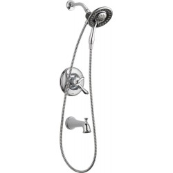 Delta T17494-I Monitor® 17 Series Tub and Shower with In2ition® Two-in-One Shower Linden™