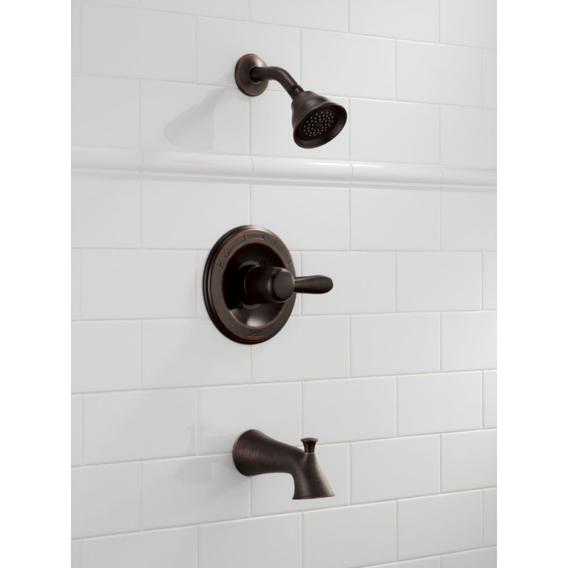 Delta T14438 Monitor 174 14 Series Tub And Shower Trim Lahara 174