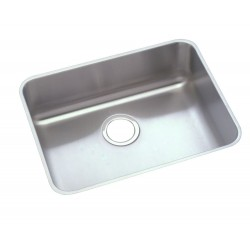 Elkay PLAUH211510 Pursuit Stainless Steel Single Bowl Undermount Sink