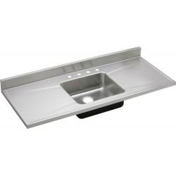 Elkay S60194 Gourmet (Lustertone) Stainless Steel Single Bowl Sink Top Sink