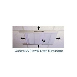 Comfort First Products 4 Count CAF22114 Control-A-Flow Draft Eliminator with Filter