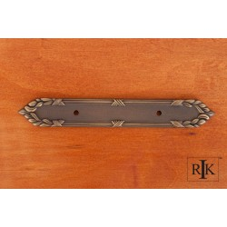 RKI BP 384 Ornate Edge Pull Backplate