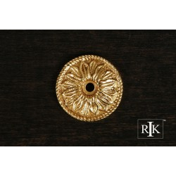 RKI BP 482 Flower Knob Backplate