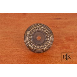 RKI BP 484 Cross & Petal Knob Backplate