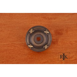 RKI BP 487 Line & Cross Knob Backplate